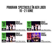 spectacolele in aer liber ale teatrului toma caragiu in perioada 15 - 21 iunie