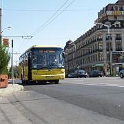 tramvaiele inlocuite cu autobuze noi