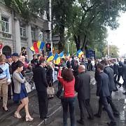 schimb de steaguri romanesti la chisinau video si foto