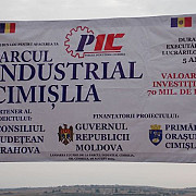 premierul moldovei si seful cj prahova au inaugurat parcul industrial de la cimislia foto