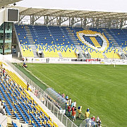unde au disparut aproape 50 de scaune de pe stadionul ilie oana
