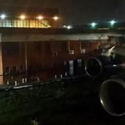cladire distrusa de avion la johannesburg