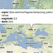 cutremur in zona seismica fagaras-campulung