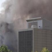 bucuresti incendiu la o cladire de birouri din zona pipera