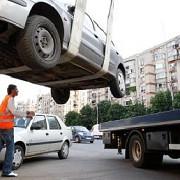 ridicarea masinilor a devenit ilegala in doua sectoare ale capitalei