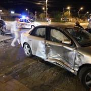 trei persoane ranite intr-un accident rutier in centrul ploiestiului