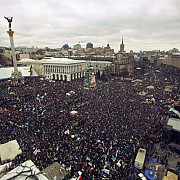 un million de ucrainieni sunt asteptati in centrul kievului