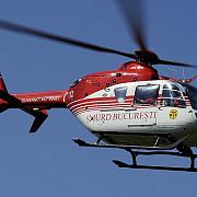 trei persoane ranite intr-un accident una a fost preluata de un elicopter smurd