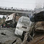 accidentul feroviar din spania surprins de camerele de supraveghere video
