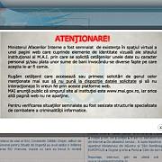 site-ul ministerului de interne clonat de hackeri