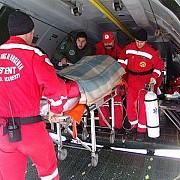 pacient cu arsuri grave adus cu avionul smurd in capitala