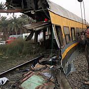 accident feroviar in egipt