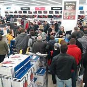 25000 de produse au fost vandute in magazinele flanco in doar patru ore