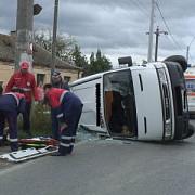 elevi raniti intr-un accident rutier