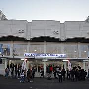 fotogalerie spectacol de lumini si muzica la inaugurarea salii sporturilor