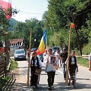 leonard doroftei si corina ungureanu la marsul national avram iancu