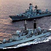 rusia a detectat lansarea a doua rachete in marea mediterana