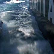 nava sub pavilion unguresc scufundata pe canalul dunare-marea neagra