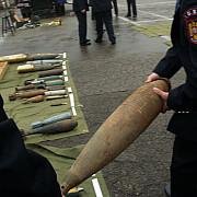 distrugere de munitie provenita din al doilea razboi mondial