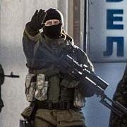 barbati inarmati au ocupat un comisariat de politie din estul ucrainei