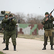 in estul ucrainei au loc schimburi de focuri