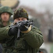 separatistii prorusi au deschis focul asupra fortelor ucrainene la slaviansk