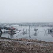 dambovita case inundate de ploile torentiale 15 persoane intre care 7 copii salvate dintre ape