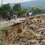 nordul judetului afectat grav de alunecarile de teren