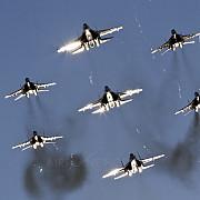 rusii au invadat spatiul aerian al ucrainei dar spun ca n-au fost ei