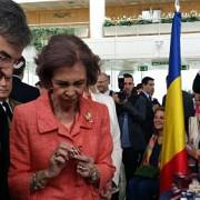 regina sofia a spaniei a ales oua incondeiate de la standul romaniei