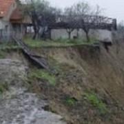 dambovita 25 de hectare de teren au fost afectate de alunecari de teren