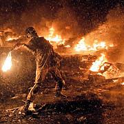 numerosi raniti dupa ce prorusii au atacat o manifestatie pro-kiev la donetk