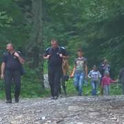 turisti blocati de viitura in bucegi