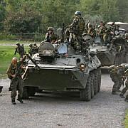 armata ucraineana a atacat trupele rusesti care au patruns pe teritoriul ucrainei