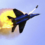 avion mig-29 ucrainean doborat de separatisti in zona lugansk