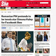 culmea meschinariei romanian prime minister pretends to be simona halep for facebook likes
