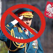 ministrul rus al apararii are interzis in polonia acesta a fost intors din drum