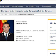 surpriza cine este noul purtator de cuvant al inspectoratului general al politiei romane
