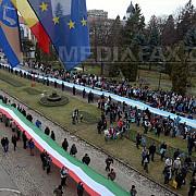 protest la sfantu gheorghe 5000 de persoane au intonat imnul ungariei