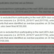 uefa astra si cfr excluse din cupele europene