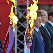 flacara olimpica a jocurilor de iarna 2014 a ajuns la soci