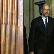 primul ministrul italiei enrico letta a demisionat