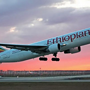 un avion al companiei ethiopian airlines a fost deturnat
