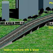 proiectul pasajului suprateran de la vest a intrat in linie dreapta
