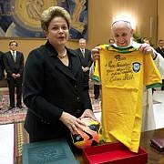 cadou brazilian pentru papa francisc