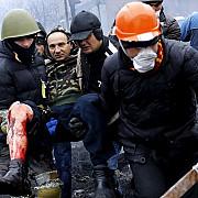 o parte din protestatarii raniti la kiev vor fi tratati in romania