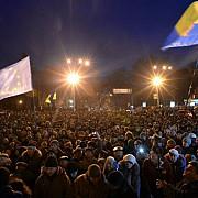 politia ucraineana locuitorii kievului sunt deranjati de protestatari