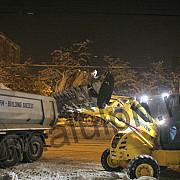 aproape 600 de tone de zapada au fost ridicate din ploiesti de catre sgu