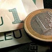 cursul euro a depasit pragul de 45 lei