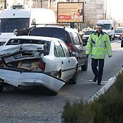 accident rutier pe strada vasile lupu din ploiesti